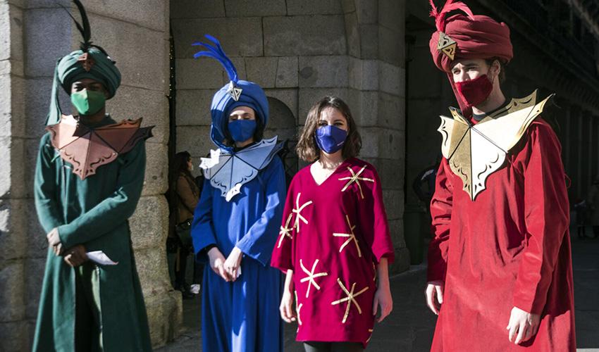 6 estrellas fugaces anunciarán la llegada de los Reyes Magos a Madrid