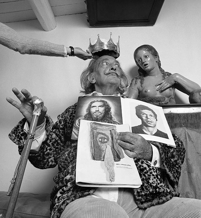 SERIE RETRATOS PSICOLOGICOS Salvador Dali - Último fin de semana para ver las fotografías de Alberto Schommer en Madrid