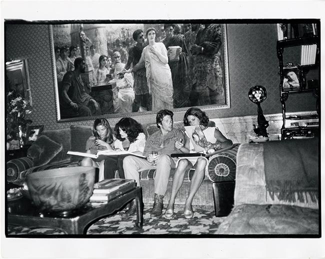 Sylvia Martins Diane Von Furstenberg Richard Gere and Barbara Allen at Diane von Furstenberg New York 1980 - Exposición: La intimidad de Andy Warhol fotografiada por su colaborar más cercano
