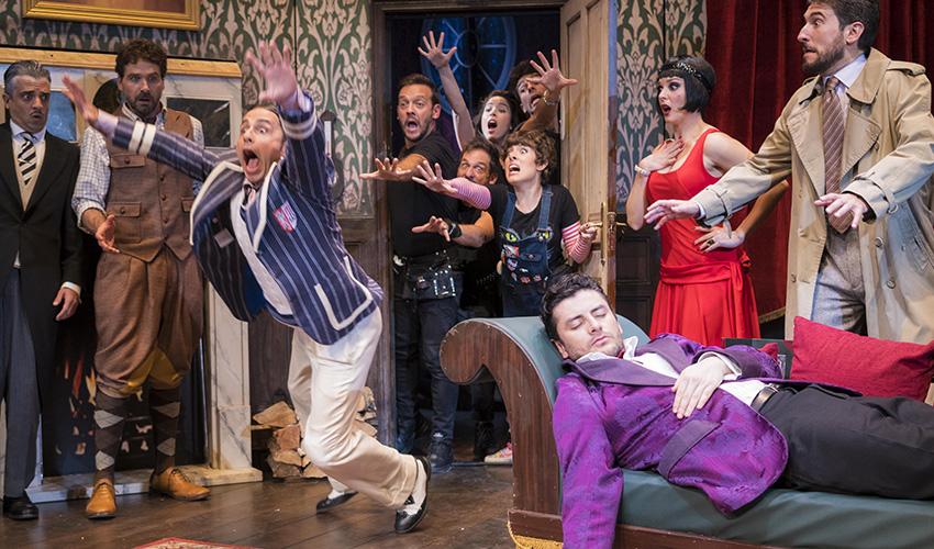 """Teatro: """"La función que sale mal"""" es la comedia más premiada del mundo"""