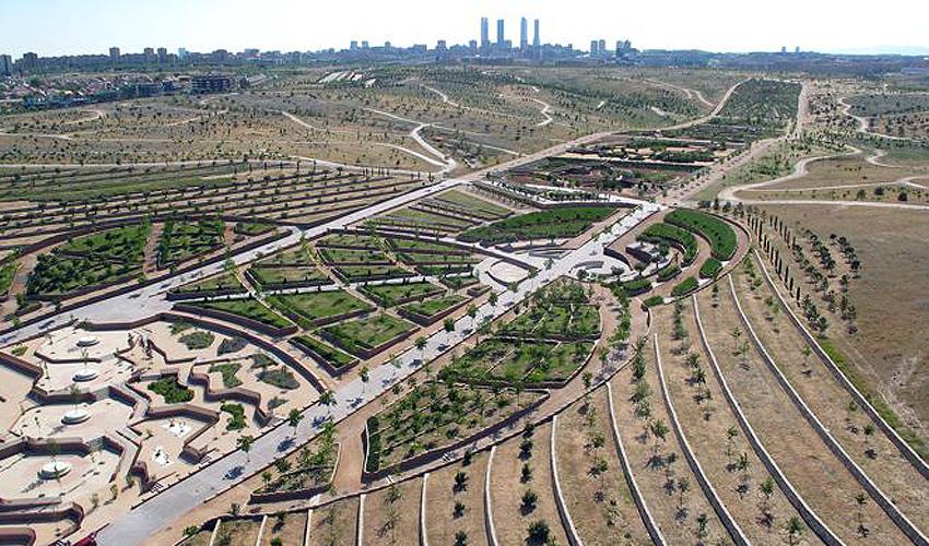 Así será el parque Central de Valdebebas. Comienzan las obras