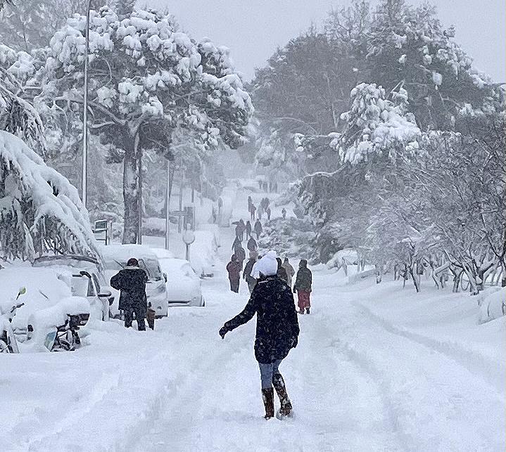 madrid nevado 9 enero 2020 - Guía para mejorar la situación de los edificios y las viviendas tras la nevada en Madrid
