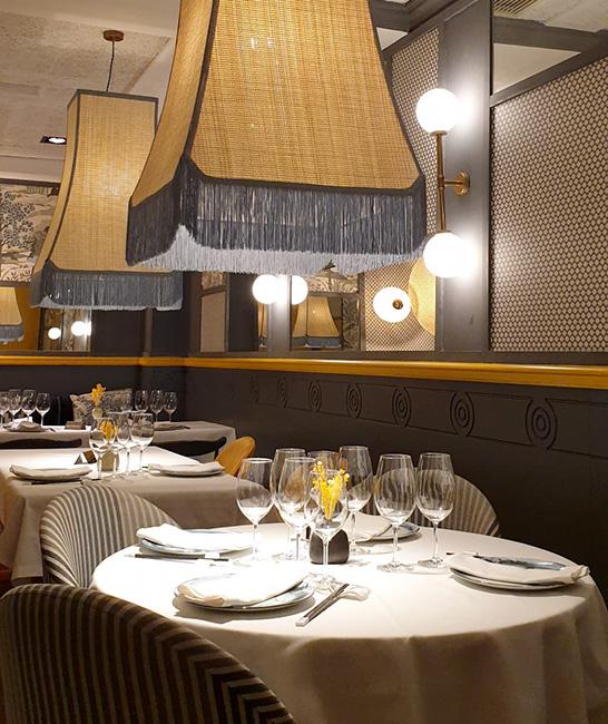 restaurante chino Hutong mesas sala - Restaurante chino Hutong: sabores genuinos con el pato Pekín como protagonista