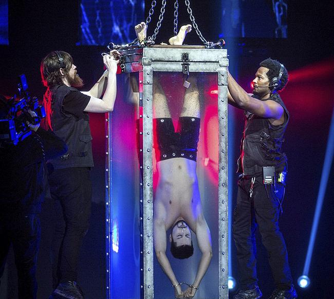 Andrew Basso 1 - Festival de magia en el Teatro Circo Price de Madrid