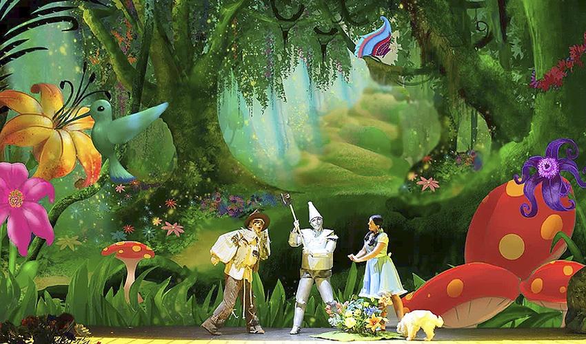 El musical «El maravilloso Mago de Oz» se representa en IFEMA