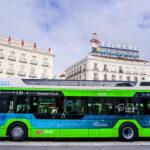 Madrid prueba el primer autobús de hidrógeno que circula en España