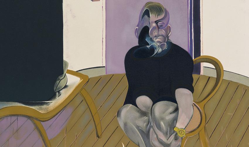Francis Bacon y Freud conversan sobre la soledad en la galeria Marlborough