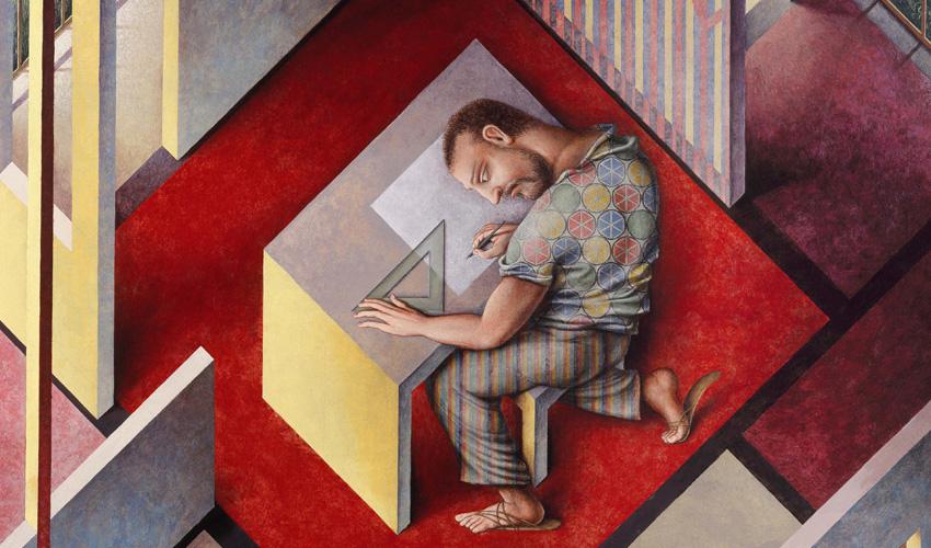 El artista posmoderno, protagonista de La Movida, Guillermo Pérez Villalta, expone en Madrid