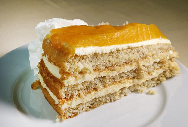 tarta de naranja - El cocido madrileño del restaurante Cruz Blanca Vallecas está buenísimo