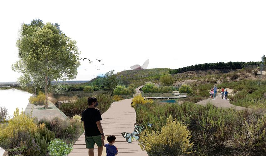 Estos son los cinco proyectos que harán realidad el Bosque Metropolitano