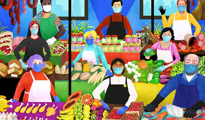 Exposición: Ilustraciones que cuentan Madrid en la sala CentroCentro