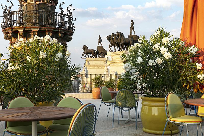 Dani Brasserie. Terraza 1 - Un día perfecto en Madrid. Plan de shopping + foodie