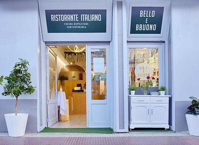 FACHADA BELLO E BBUONO BAJA 4 - Restaurante Bello e Bbuono: cocina emocional napolitana
