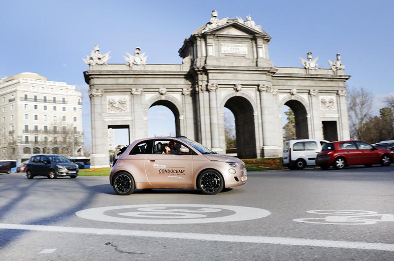 FIAT 500 Madrid Puerta de Alcalá - Un día perfecto en Madrid. Plan de shopping + foodie