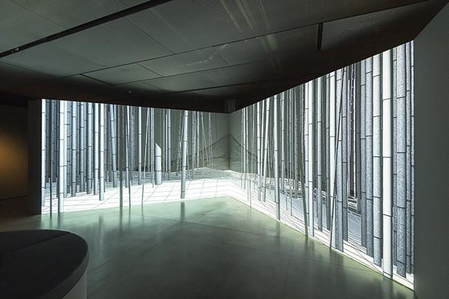 Joanie Lemercier. FUJI - Exposición: Joanie Lemercier nos acerca a la naturaleza desde el videomapping