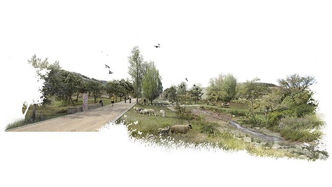 MANANTIAL SUR Vista del arroyo de La Gavia - Estos son los cinco proyectos que harán realidad el Bosque Metropolitano
