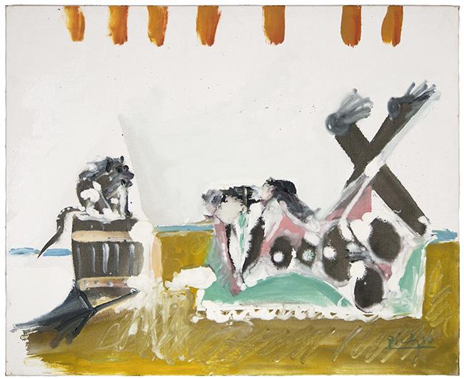 Picasso Fotografo y mono 1965 - Exposición: Zóbel y grandes artistas de posguerra