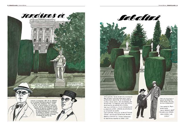 Victoria Martos - Exposición: Ilustraciones que cuentan Madrid en la sala CentroCentro