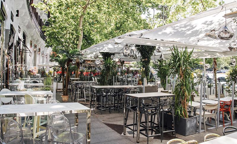 desayuno en Ramses - Un día perfecto en Madrid. Plan de shopping + foodie