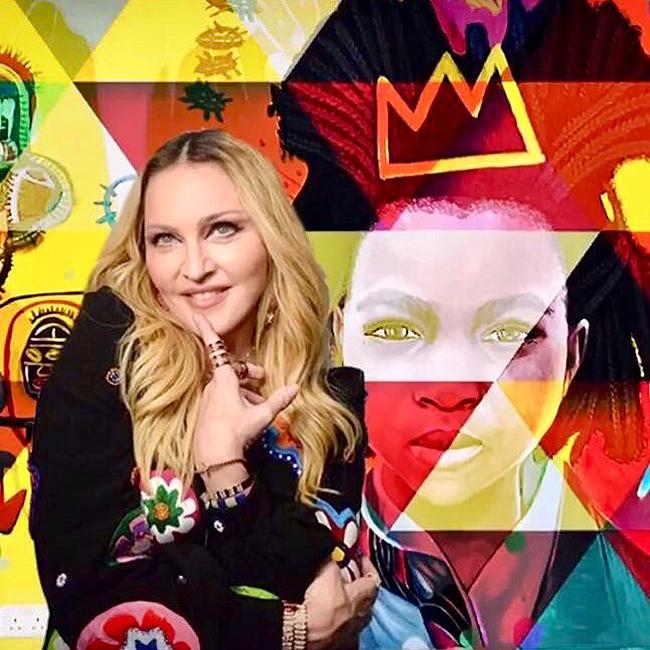 madonna rene makela Madrid - El artista que posteó Buenafuente y las redes lanzaron a la fama, abre tienda en Madrid