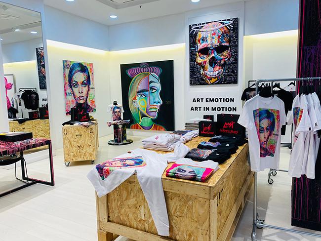 rene makela Madrid - El artista que posteó Buenafuente y las redes lanzaron a la fama, abre tienda en Madrid