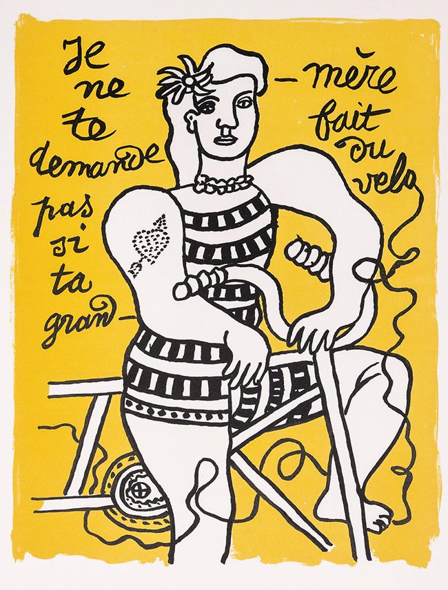 21b E© Fernand Léger VEGAP Madrid 2021 - El colorido cubismo de Léger se expone en la Fundación Canal