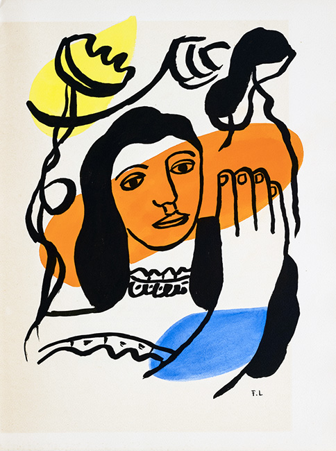 30 © Fernand Léger VEGAP Madrid 2021 - El colorido cubismo de Léger se expone en la Fundación Canal