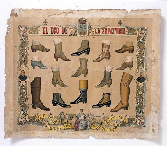 Eco Zapateria La Retrografia 1 1145x1000 1 - Una exposición recorre la historia de la publicidad de los comercios de Madrid