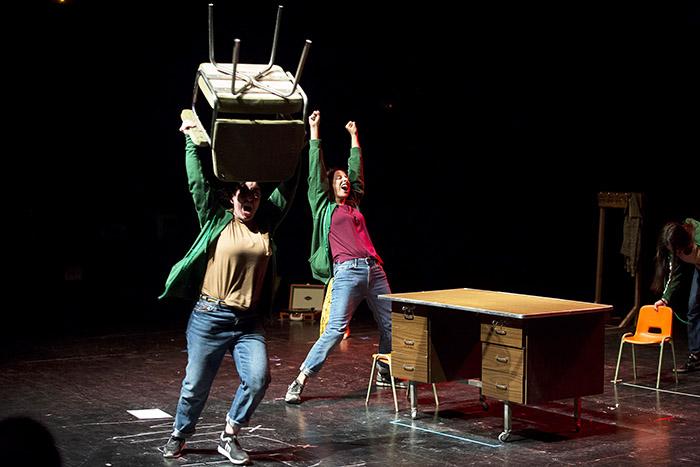FOTO - Teatro emergente en las Naves del Español