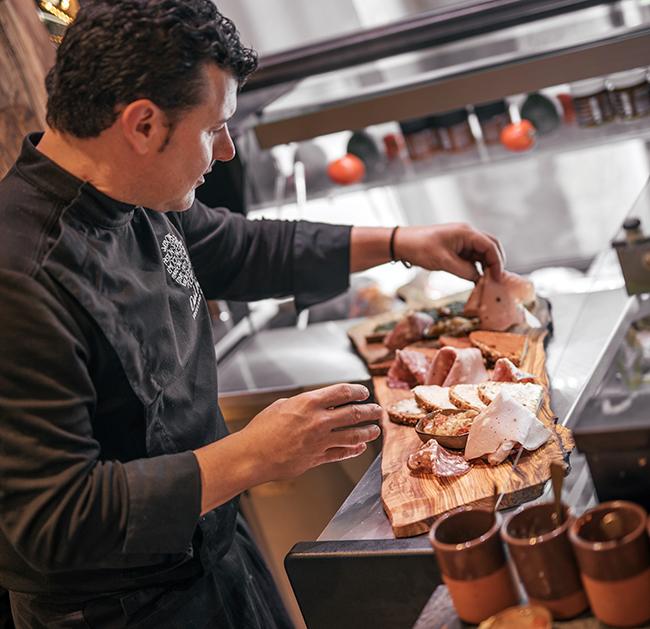 Salutteria Madrid Platos 8 - El restaurante Salutteria insinúa un viaje a la Italia más divertida en cada bocado