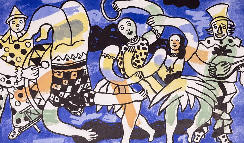 El colorido cubismo de Léger se expone en la Fundación Canal