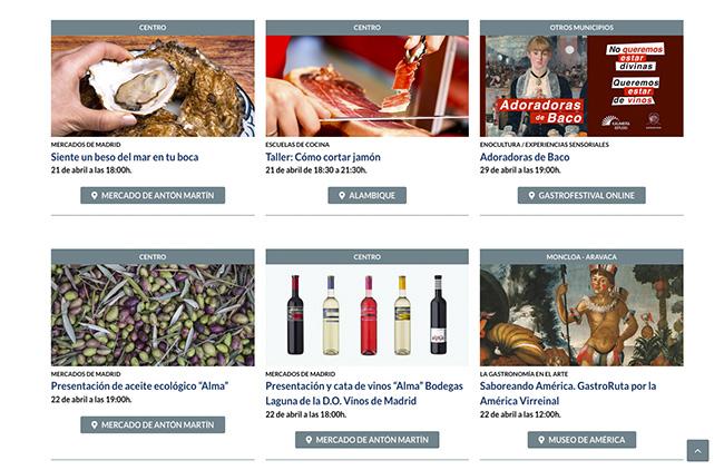 gastrofestival Madrid 2 - Gastrofestival Madrid, más de 500 actividades alrededor de la gastronomía