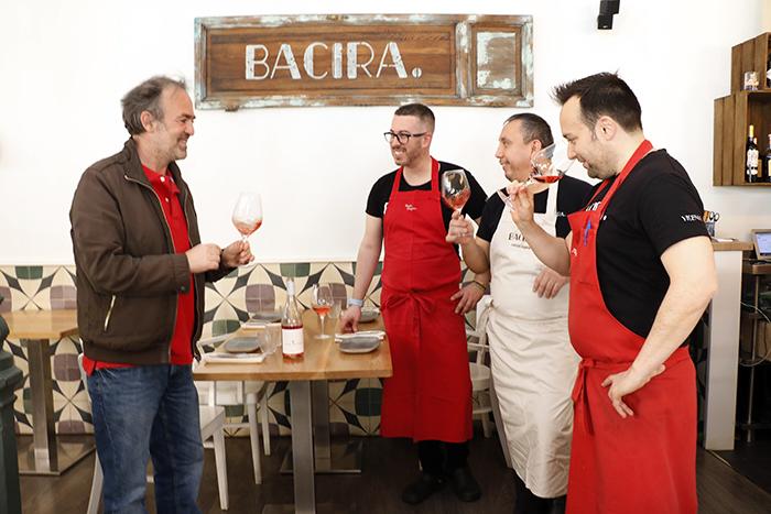 Bacira 002 - Ruta de restaurantes por Madrid. Maridando con vinos de Luis Oliván