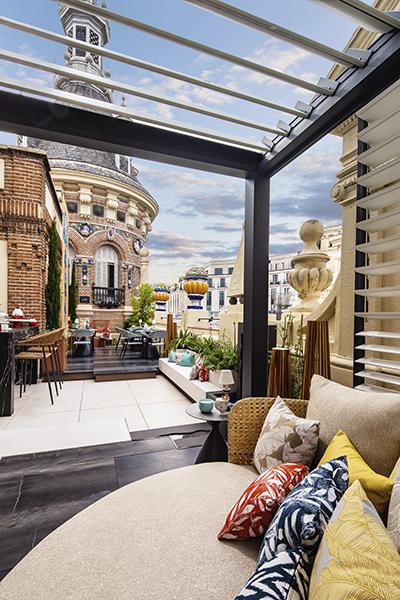 Casadecor 2021 espacio LDKGarden Terraza Alterespacio baja 2 - Casa Decor, 46 días para definir las tendencias de la decoración