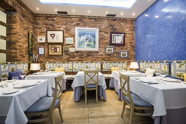 Sala La Cocina de María Luisa - 7 maestros arroceros de Alicante cocinan en 7 grandes restaurantes de Madrid