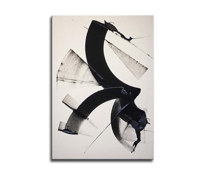 "The Art Büro Viani Dont tell me  92 x 65 cm Acrylic on raw canvas 2020 - ""Art Madrid"" inicia la semana del arte en Madrid"