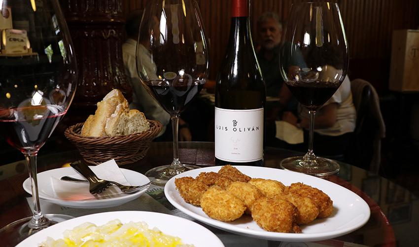 Ruta de restaurantes por Madrid. Maridando con vinos de Luis Oliván