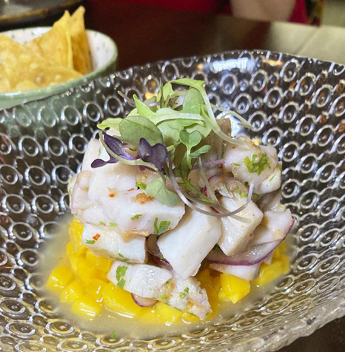 nakama ceviche corvina - Nakama Sagasta, el restaurante japonés con emoción caribeña