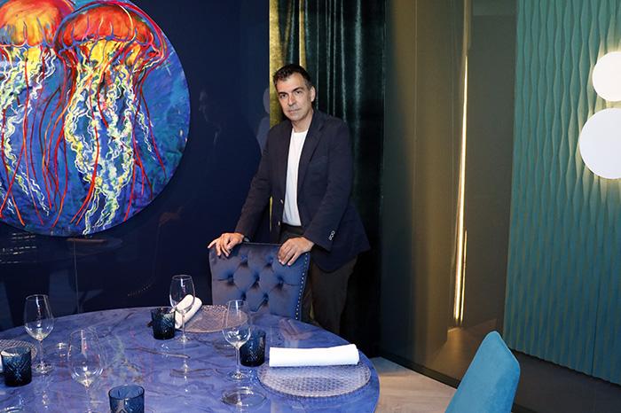 """ramon freixa casa decor 02 - Ramón Freixa cocina en Casa Decor: """"Soy muy Peter Pan, miro la gastronomía con ojos de niño"""""""