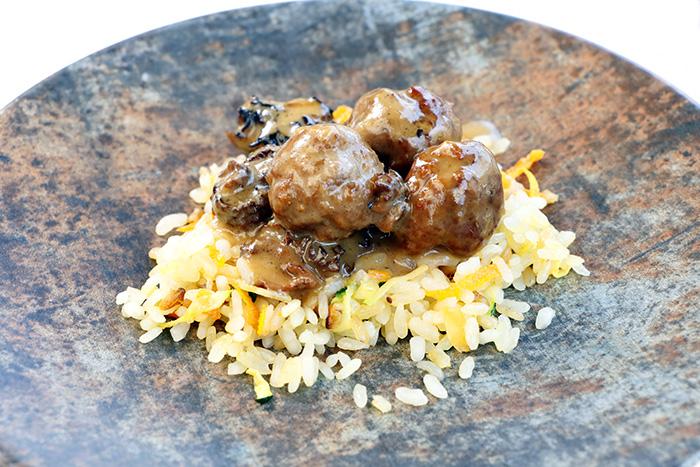 restaurante Candela Madrid albondigas - Restaurante Candela, cocina tradicional de producto, afecto y devoción