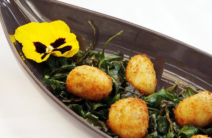 restaurante Candela Madrid croquetas - Restaurante Candela, cocina tradicional de producto, afecto y devoción