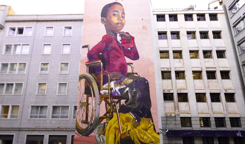 """Urvanity saca a las calles de Madrid el """"Nuevo Arte Contemporáneo"""""""