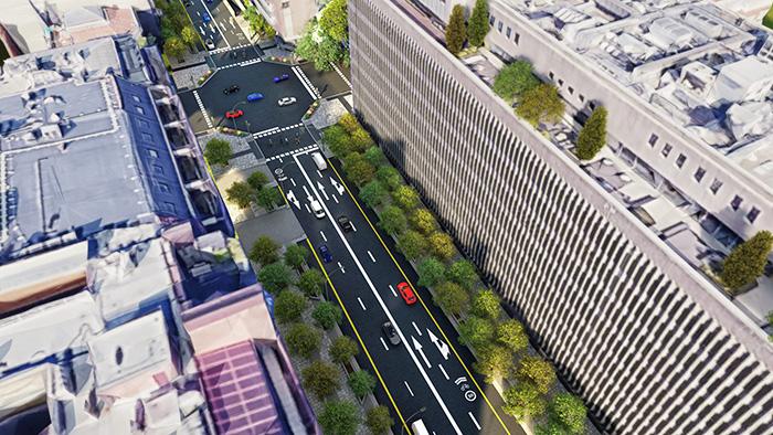 vista 3 scaled 1 - Así será la calle Ortega y Gasset en un año