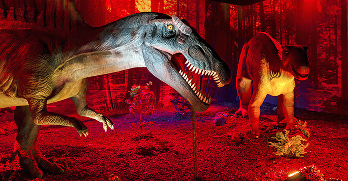 0 SHG DinoExpo 12 - Dino World. Al Jurásico se viaja desde Madrid