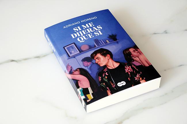 """LIBRO Adriano - Adriano Moreno: """"Me gustaría que mi novela la leyera un joven homosexsual y cualquier amante de la comedia romántica"""""""