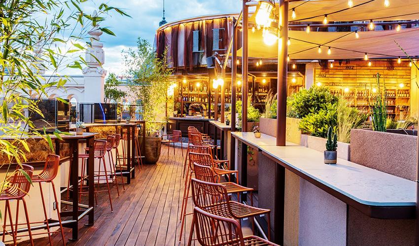 Le Tavernier, el nuevo roofbar de Madrid