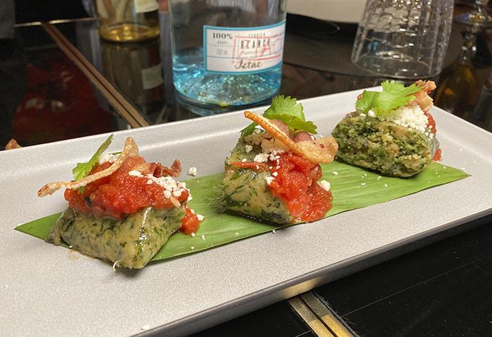 tamal 11 - Espectacular carta de verano del restaurante mexicano Iztac