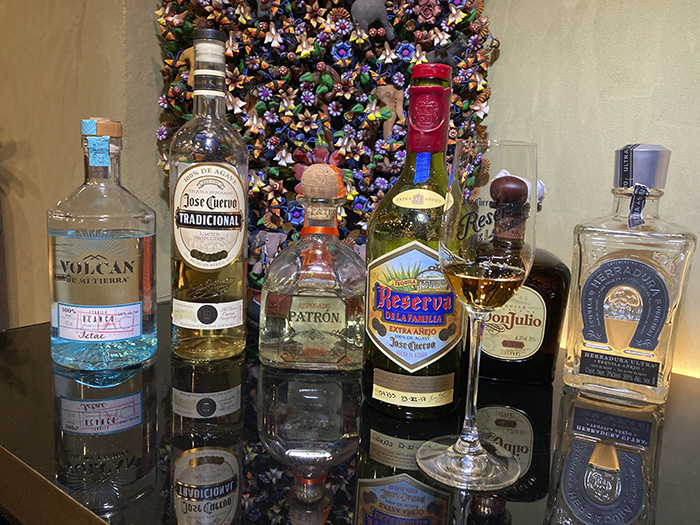 tequilas1 - Espectacular carta de verano del restaurante mexicano Iztac