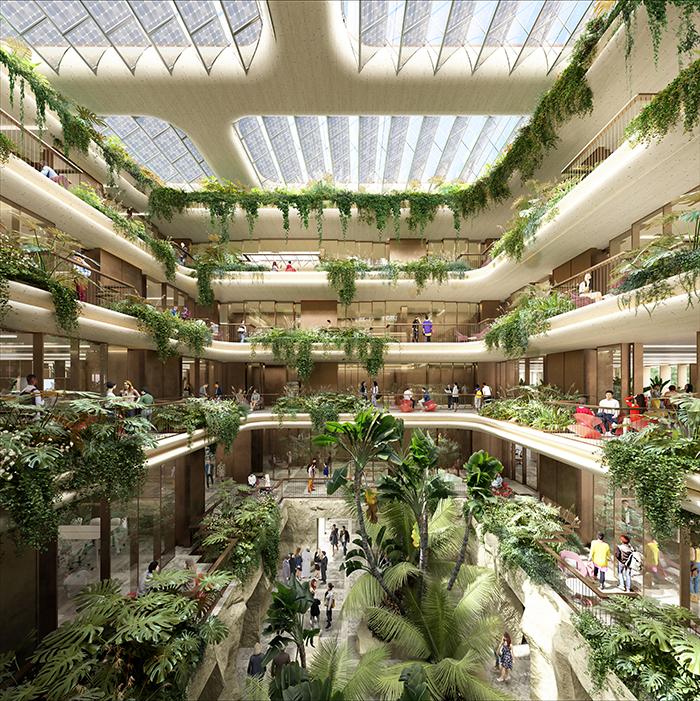 Castellana 69 Atrium interiorcHeatherwick Studio - Así será el nuevo edifico de El Corte Inglés en La Castellana