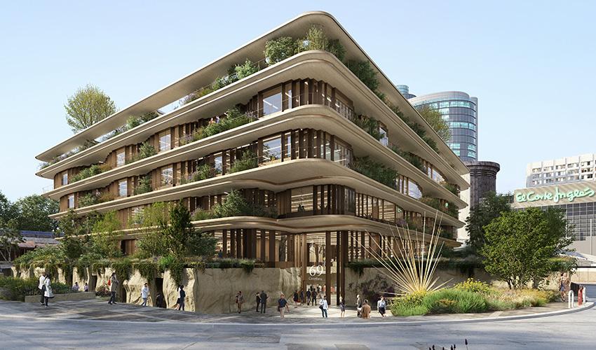 Así será el nuevo edifico de El Corte Inglés en La Castellana